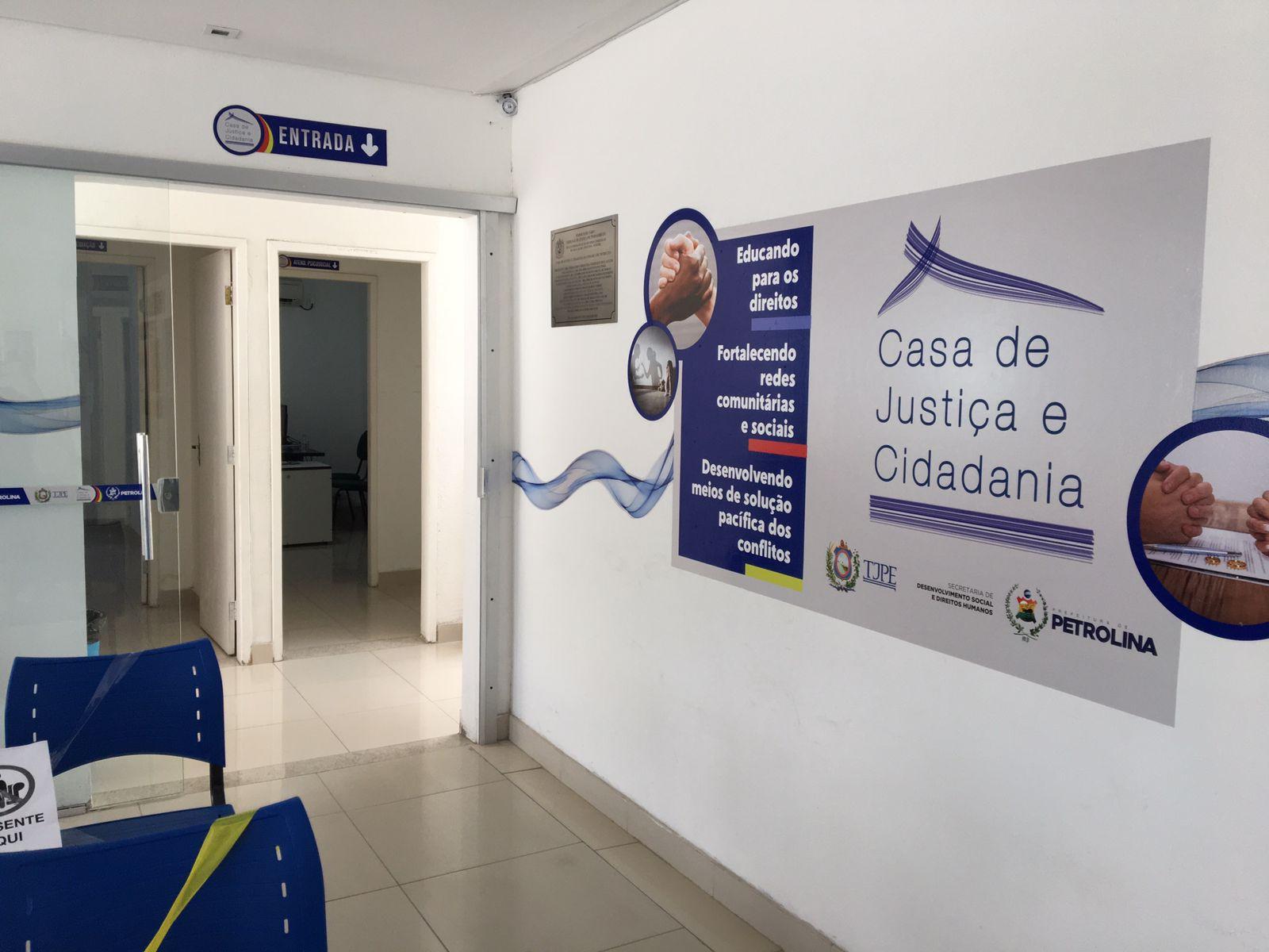 Casa da Justiça e Cidadania fará 'Semana de Conciliação' para resolver conflitos familiares em Petrolina